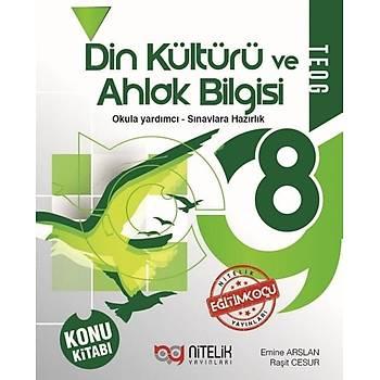 Nitelik 8. Sýnýf Din Kültürü ve Ahlak Bilgisi Konu Kitabý
