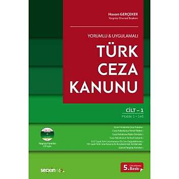 Seçkin Yayýnlarý     Yorumlu & Uygulamalý Türk Ceza Kanunu (2 Cilt) Hasan Gerçeker
