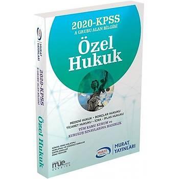 Murat Yayýnlarý 2020 KPSS A Grubu Özel Hukuk