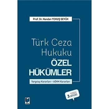 Adalet Yayýnevi Türk Ceza Hukuku Özel Hükümler Handan Yokuþ Sevük