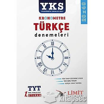 TYT Kronometre Türkçe Denemeleri 20x40 Limit Yayýnlarý