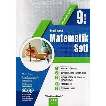 Çap Yayýnlarý 9. Sýnýf Fen Lisesi Matematik Seti