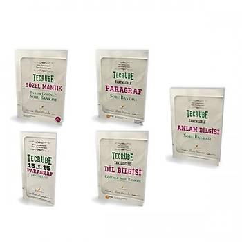 Pelikan KPSS için Tecrübe Taktiklerle Türkçe Seti - 5 Kitap Rüþtü Bayýndýr Pelikan Yayýnevi
