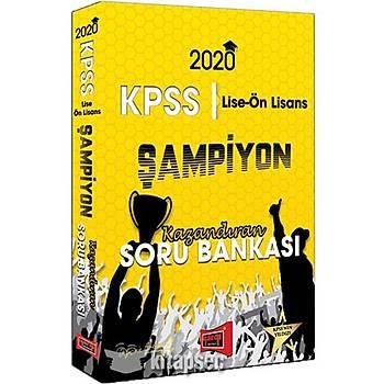 Yargý Yayýnlarý 2020 KPSS Lise Ön Lisans GY GK Þampiyon Kazandýran Soru Bankasý