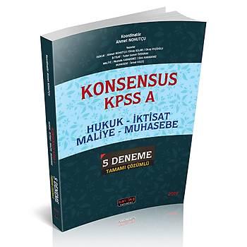 Savaþ KONSENSUS KPSS A Hukuk - Ýktisat - Maliye - Muhasebe 5 Deneme Tamamý Çözümlü