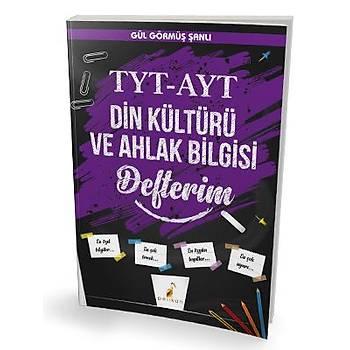 Pelikan Yayýnlarý TYT - AYT Din Kültürü ve Ahlak Bilgisi Defterim Gül Görmüþ Þanlý Pelikan Yayýnevi