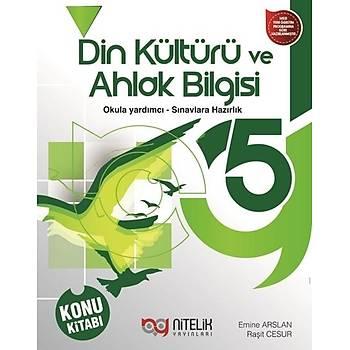 5. Sýnýf Din Kültürü ve Ahlak Bilgisi Konu Kitabý Nitelik Yayýnlarý