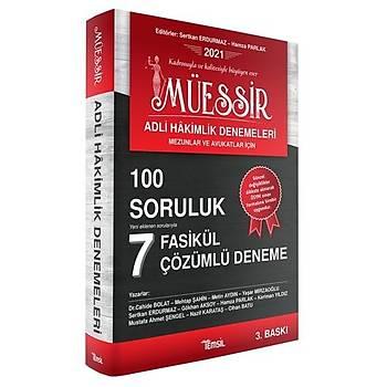 Temsil Kitap Yayýnlarý MÜESSÝR Adli Hakimlik Denemeleri 100 Soruluk 7 Adet Çözümlü Deneme