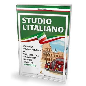 Pelikan Yayýnevi Pelikan Yayýnlarý Studio L'italiano A2 Seviyesi Okan Ergin