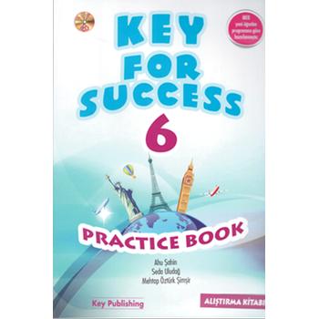 6. Sýnýf Key For Success Practice Book YENÝ