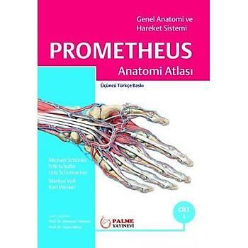 Palme Yayýnevi  Anatomi Atlasý Prometheus Cilt 1 Erik Schulte