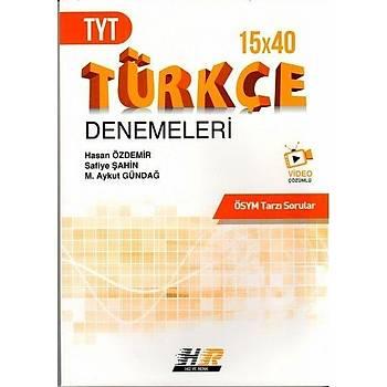 Hýz ve Renk Yayýnlarý TYT Türkçe 15 x 40 Denemeleri