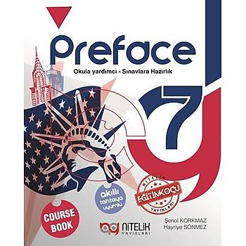 7. Sýnýf Preface Course Book Nitelik Yayýnlarý