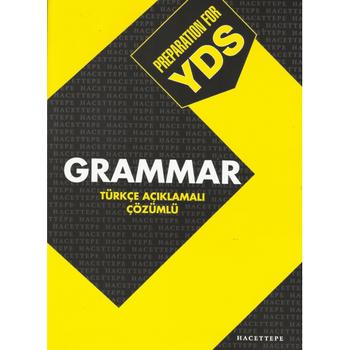 Hacettepe Taþ PREPARATION FOR YDS GRAMMAR