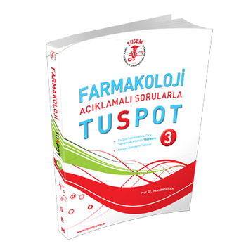 Tusem Yayýncýlýk  Farmakoloji TUSpot 3 Soru Bankasý