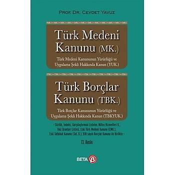 Beta Türk Medeni Kanunu Türk Borçlar Kanunu Cevdet Yavuz Beta Yayýncýlýk