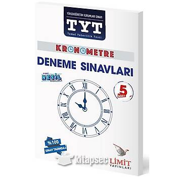 TYT Kronometre 5 Deneme Limit Yayýnlarý