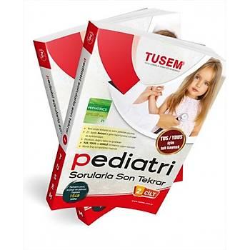 TUSEM Pediatri Sorularla Son Tekrar Cilt 1-2