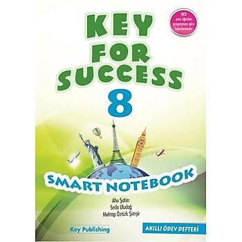 Palme Yayýnevi  KEY FOR SUCCESS 8 SMART NOTEBOOK