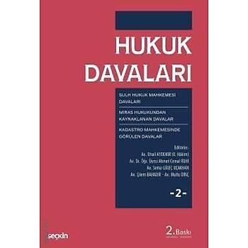 Seçkin Hukuk Davalarý - 2 Sulh Hukuk - Kadastro Mahkemesi Davalarý
