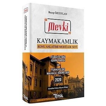 MEVKÝ Kaymakamlýk Türkiye nin Ýdari Yapýsý ve Türkiye de Mahalli Ýdareler Konu Anlatýmý Recep Özceylan Temsil Kitap
