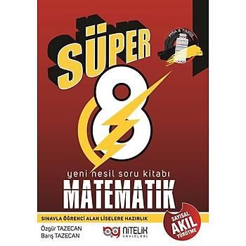 8. Sýnýf Yeni Nesil Süper Matematik Tamamý Çözümlü Deneme Sýnavý Nitelik Yayýnlarý