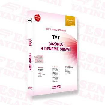 Tyt Çözümlü 4 Deneme Sýnavý - Kýrmýzý Seri