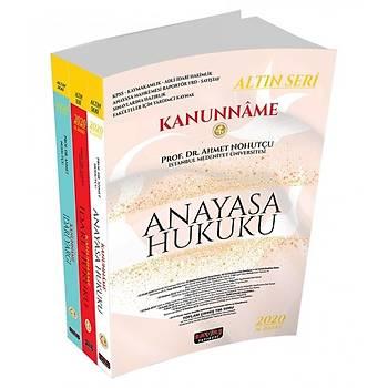 Savaþ Yayýnevi Kanunname (Anayasa Hukuku, Ýdare Hukuku, Ýdari Yargý) 3 Cilt 2021 Ahmet Nohutçu