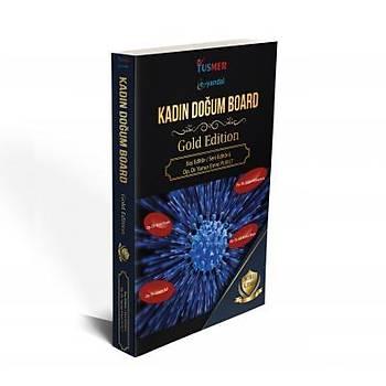 Tusmer E- Yandal Kadýn Doðum Board Gold Edition Soru Kitabý