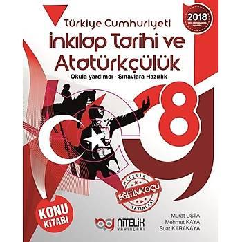 Nitelik 8. Sýnýf T.C. Ýnkýlap Tarihi ve Atatürkçülük Konu Kitabý