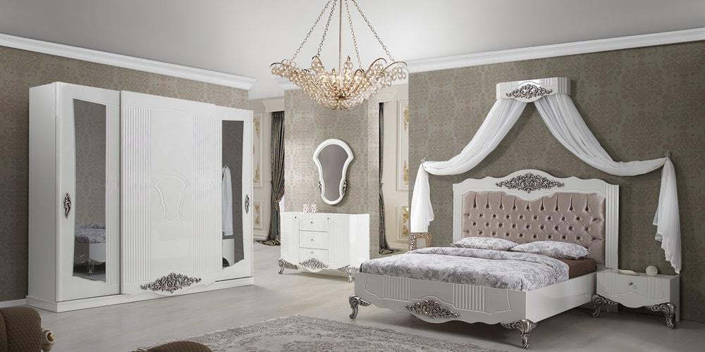Efsane Yatak Odasi Klasik Yatak Odalari Albello Mobilya