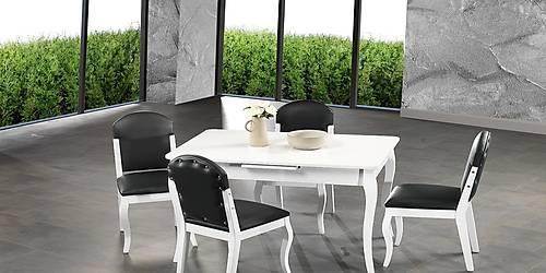 Venüs Beyaz Masa Sandalye