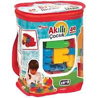 Akýllý Çocuk 40 Parça Lego Büyük Parçalý Blok