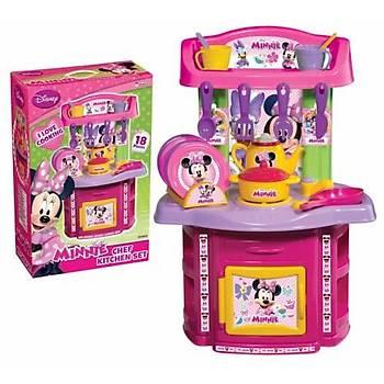 Minnie Mouse Şef Mutfak Seti 18 Parça