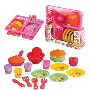 Oyuncak Candy Bulaşık Seti