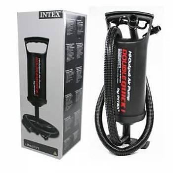 Intex Şişme Yatak Pompası Mauel 29 Cm El Pompası