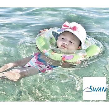 Swan Bebek Yüzme Boyun Simidi Pembe