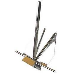 Danforth tip çıpa, AISI 316 paslanmaz çelik. 6 Kg.