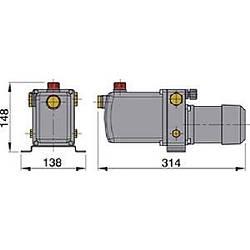 Vetus elektro hidrolik pompa