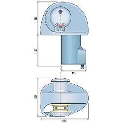 Quick EAGLE ýrgat. Tamburlu model 12 Volt 1400W