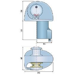 Quick EAGLE ýrgat. Tamburlu model 24 Volt 1400W