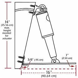 Lenco elektro-mekanik flap sistemi