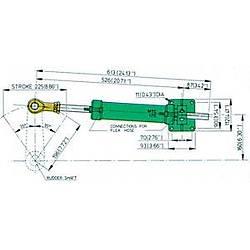 Vetus Hidrolik dümen sistemi