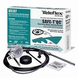 Teleflex® Safe-T® QC Dýþtan takma ve kuyruklu motor dümen sistemi