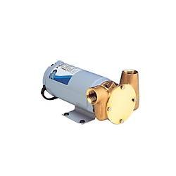 ITT Jabsco Utility Puppy 3000 Ýmpellerli Sintine Pompalarý - 24V 30 Lt/dk.