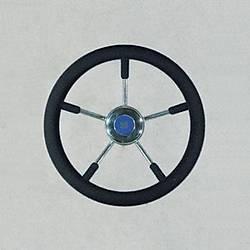 Ultraflex- Direksiyon Simidi - Paslanmaz / Poliüretan / Siyah- 350mm- V57N