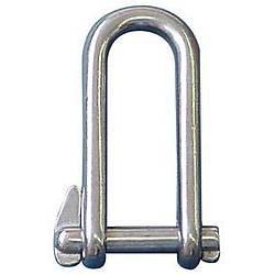 Zincir kilidi, AISI 316 paslanmaz çelik, pimli 8 mm
