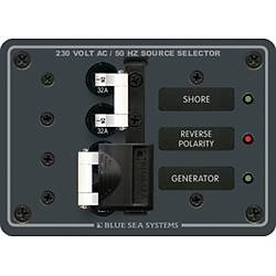 AC kaynak seçme paneli 230V AC