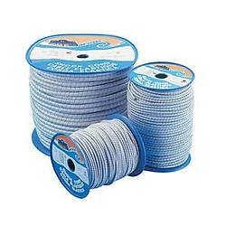 Elastik halat Beyaz üzeri mavi desenli.. Ø (mm) : 14