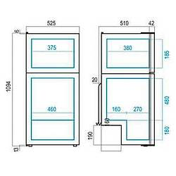 Buzdolabý/Derin Dondurucu. Model DP150i